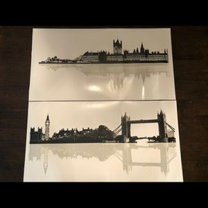 London Cityscape Wall Decals